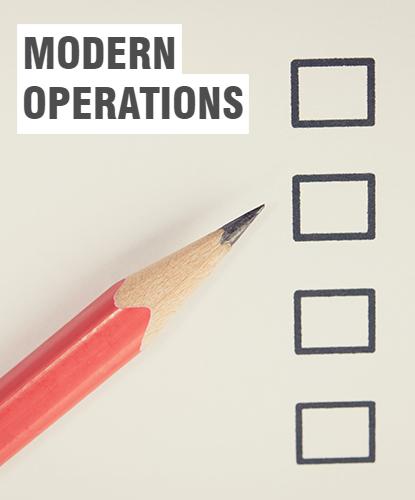 Modern Operations