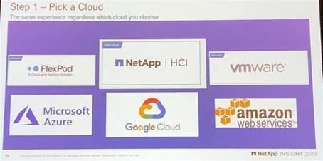 NetApp - Pick a Cloud